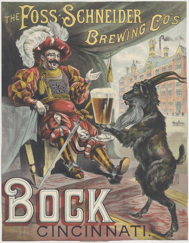 Bock Beer, Cincinnati