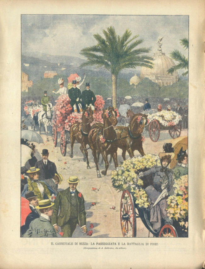 La Passeggiatta e la Battaglia di Fiore, Carnevale diNizza