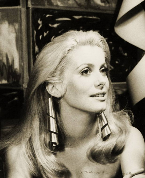 Catherine Deneuve by Man Ray, 1968