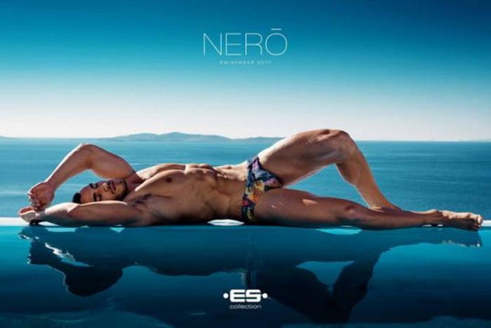 ES swimwear model