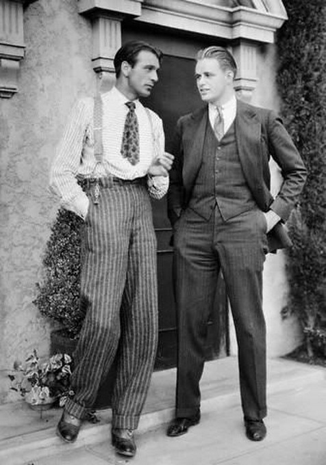 "Gary Cooper and ""friend"""