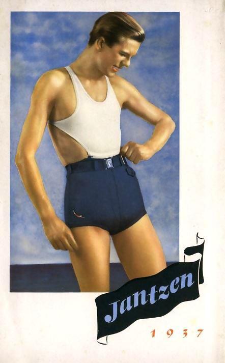 Jantzen Men's Swimwear,1937