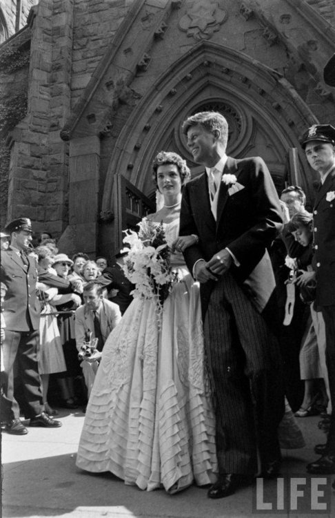 Jackie & JFK Wedding Photo