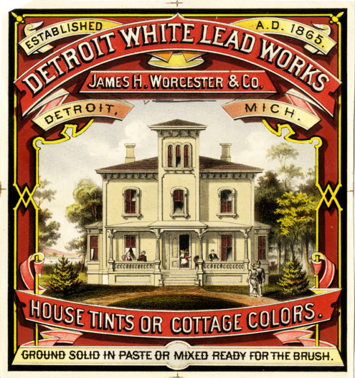 Detroit White Lead Paint