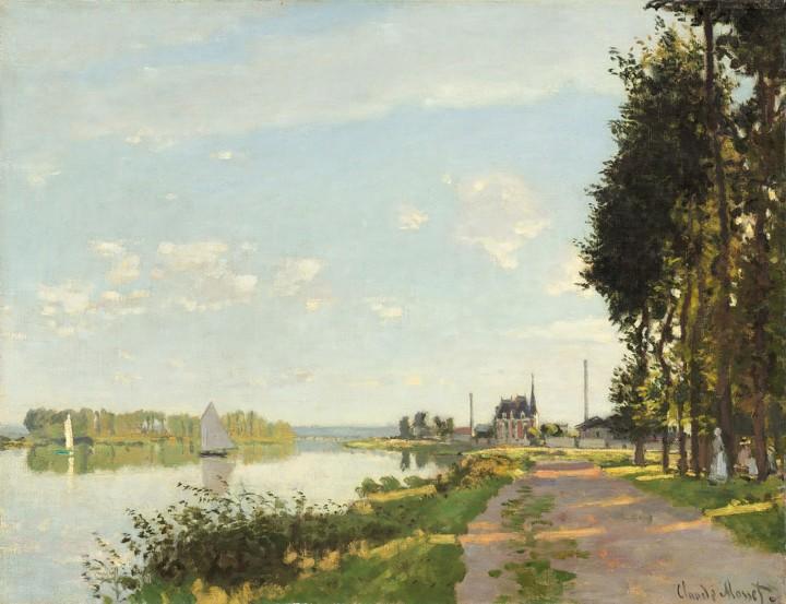 """""""Argenteuil"""", Claude Monet,1872"""