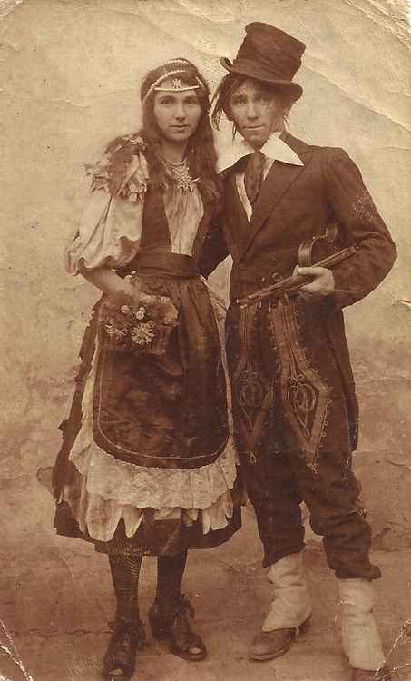 Romany couple