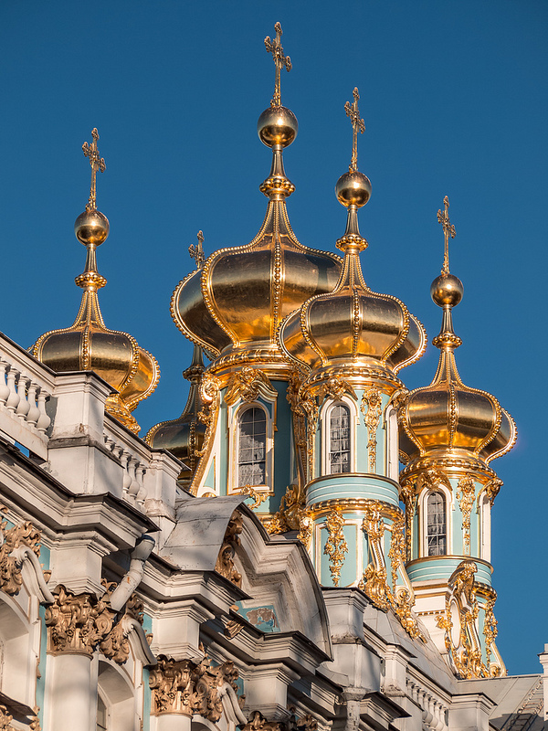 Palace of Catherine the Great (?), St.Petersburg