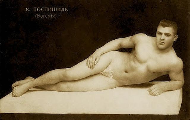 Russian wrestler, late1800s