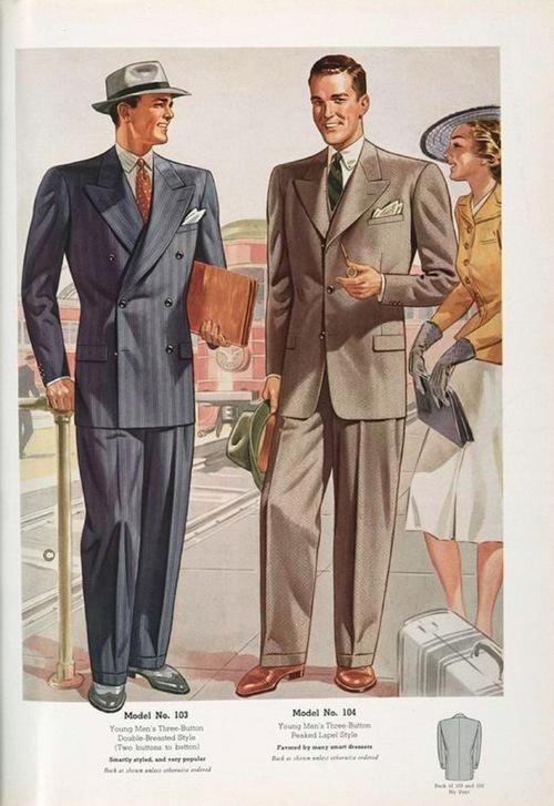 Men's Fashions, 1930s