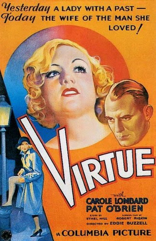 """Virtue"" starring Carole Lombard"