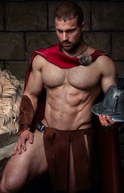 Gratuitous Shirtless Warrior
