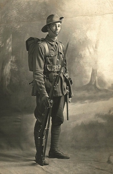 WWI Soldier, Australian I think, 1917