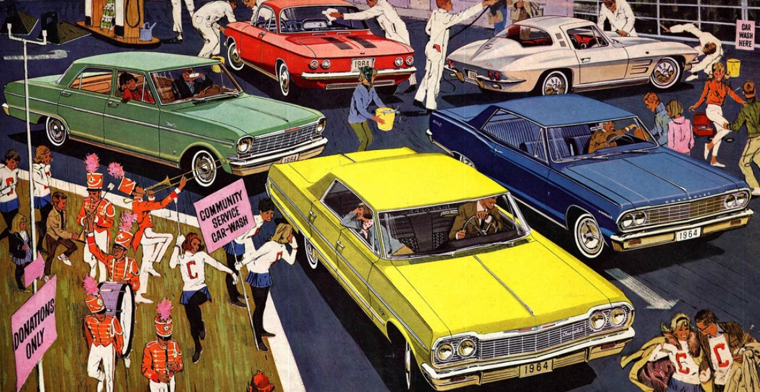 The 1964 Chevrolets