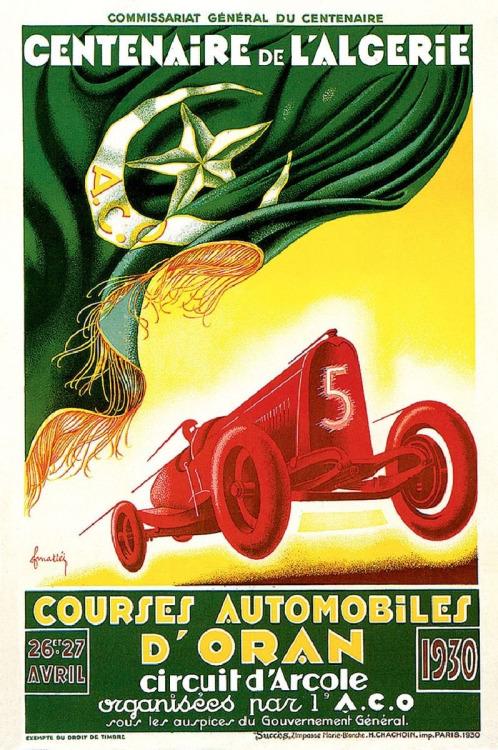 Courses Automobiles d'Oran, Algerie,1930