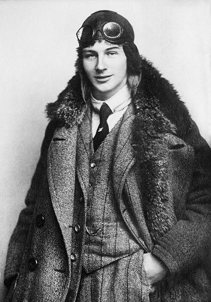 Dutch aviation pioneer Anthony Fokker, age 22, 1912,England