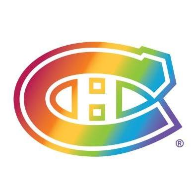 Montreal Canadiens showing some gay pride