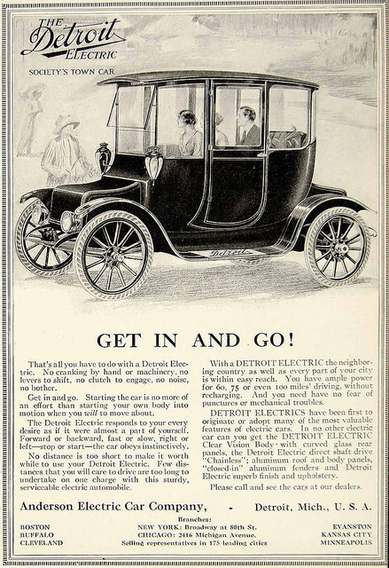 The Detroit Electric, Society's Town Car
