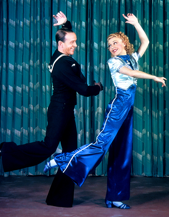 Fred Astaire and GingerRogers