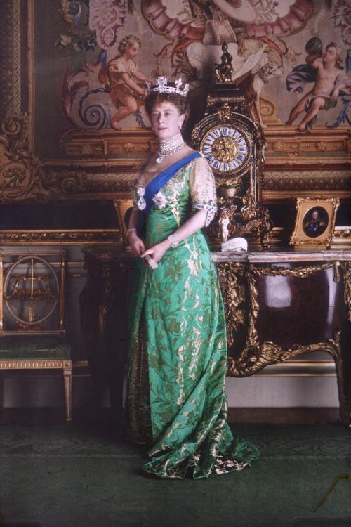 Queen Mary, 1910s