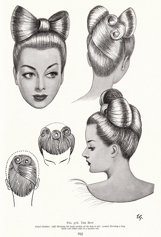 Hairstyles: The Bow
