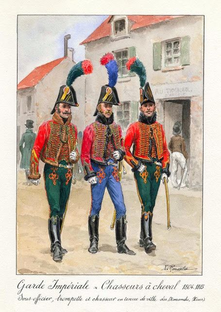 Garde Imperiale, Chasseurs aCheval