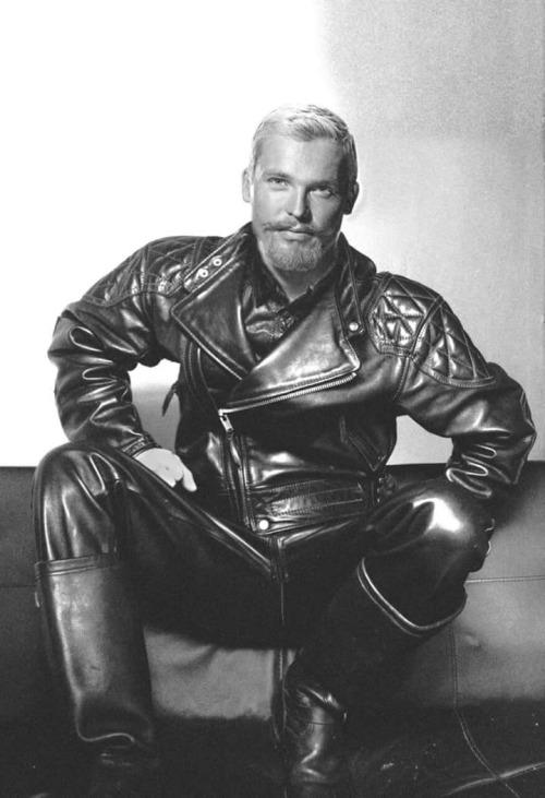 Vintage leather model