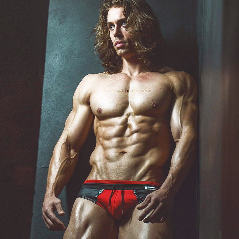 Muscular Long HaredModel