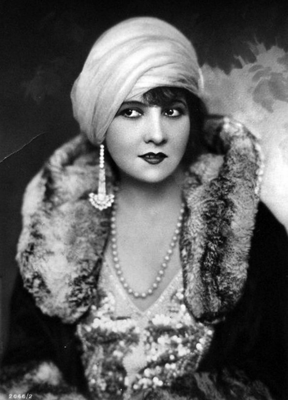 Lucy Doraine, Hungarian actress,1920s