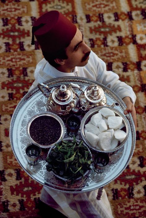 Moroccan Waiter