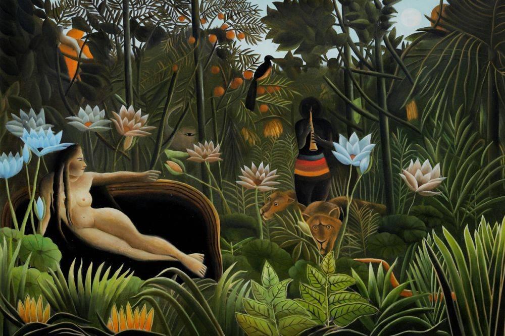 "Henri Rousseau ""TheDream"""