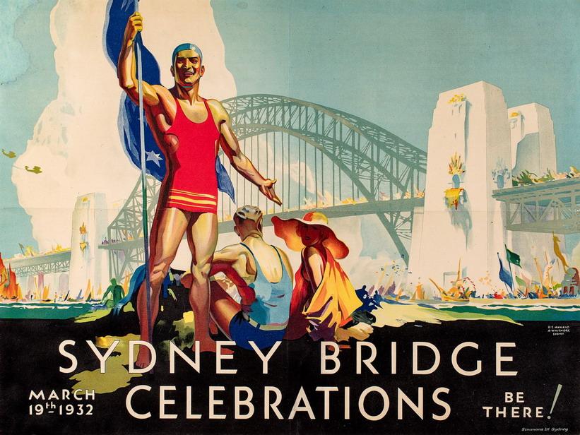 Sydney Bridge Celebrations, Australia,1932