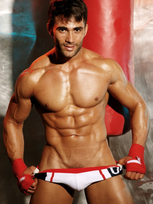 Gratuitous Shirtless Brazilian Boxer