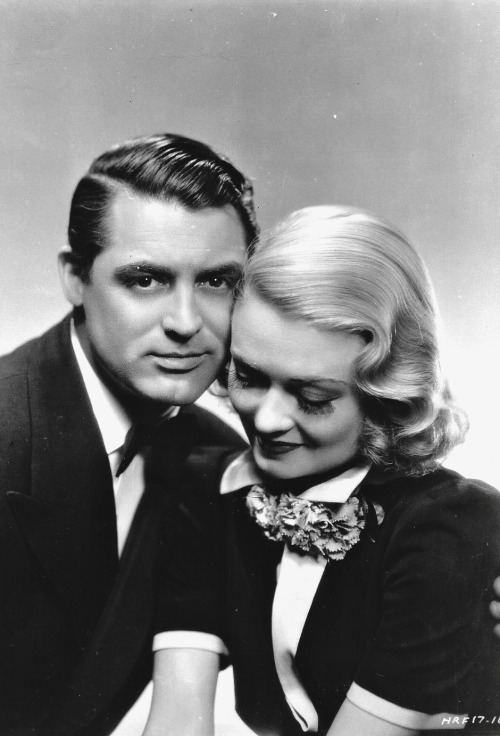 "Cary Grant and Constance Bennett in a promo photo for ""Topper"", 1937"