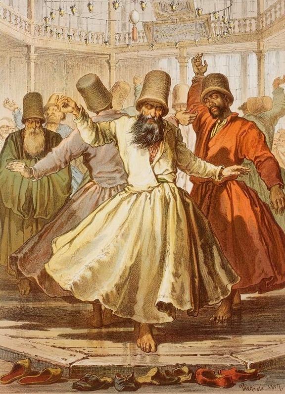 Dervishes, 1800s