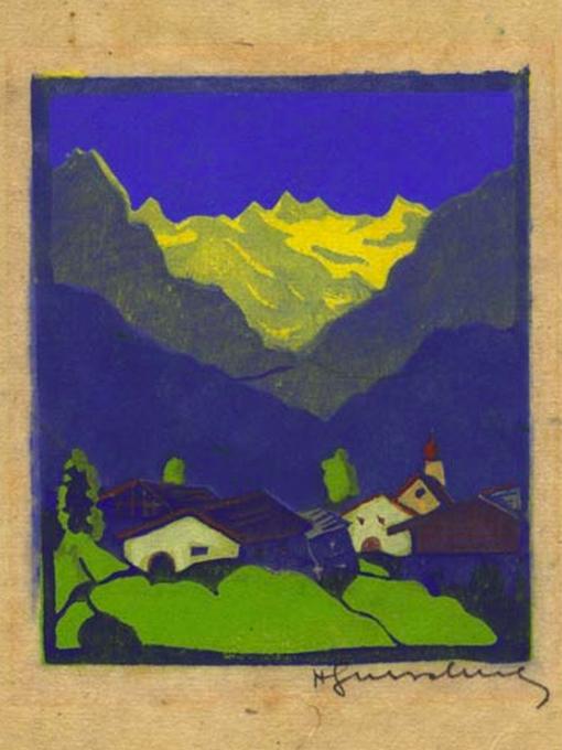 """Herbert Gurschner, """"Am Bergeshang"""", circa1930"""