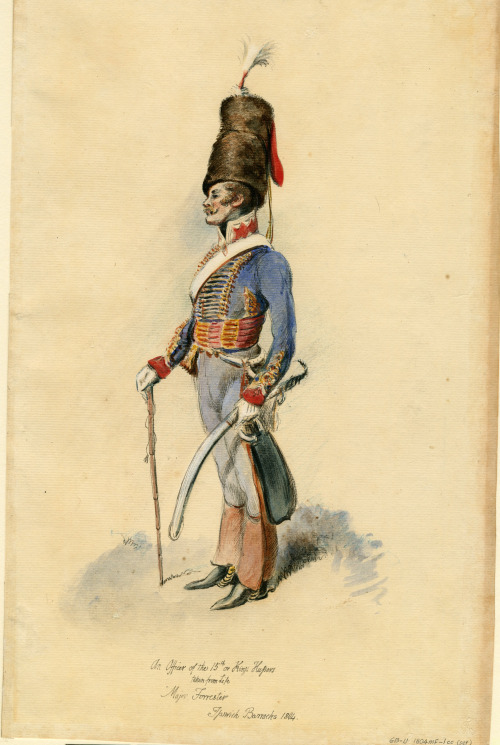 French Hussar, and his stache