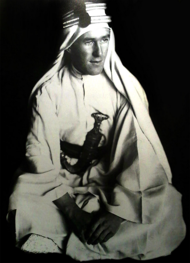 T.E. Lawrence (the real Lawrence of Arabia)