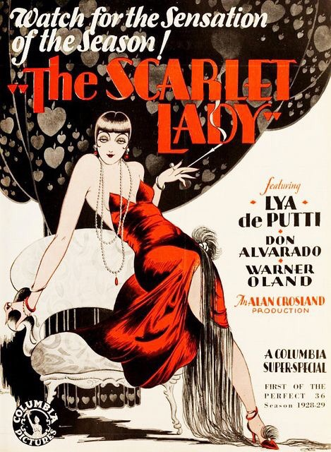 The Scarlet Lady, starring Lya de Putti, 1928