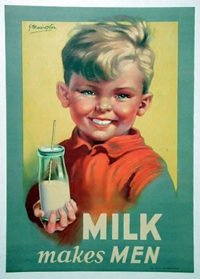 Milk makes men