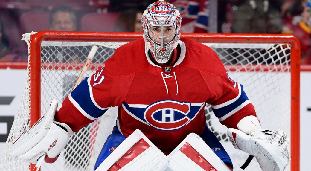 Carey Price, the best ice hockey goaltender in the world – and thankfully on the Montreal Canadiens