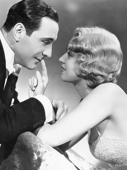 Ricardo Cortez and Joan Blondell, 1933