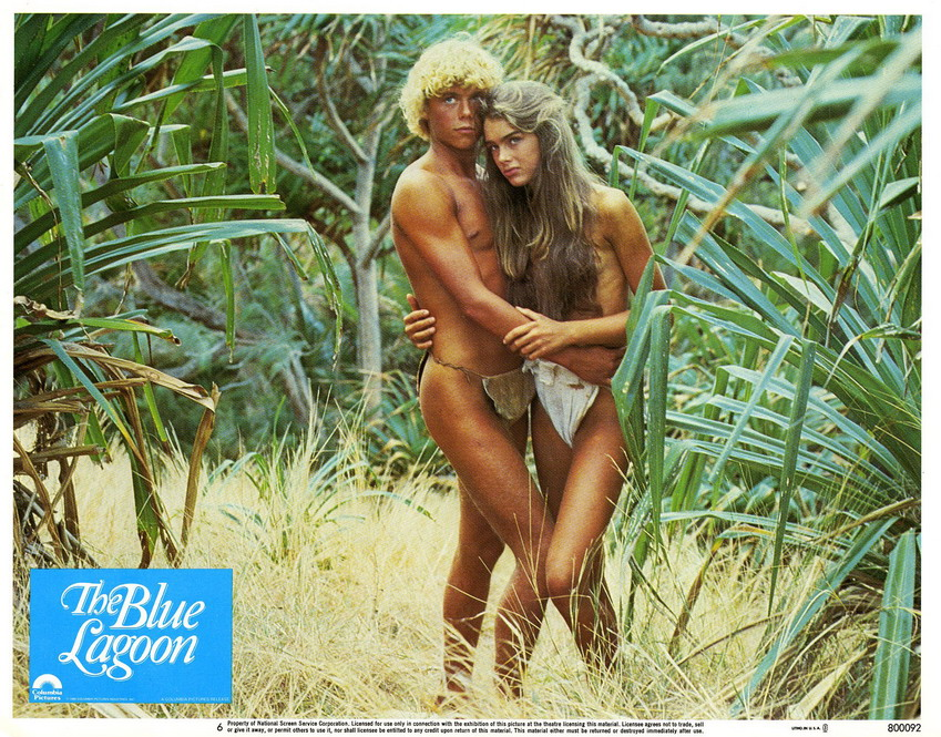The Blue Lagoon, starring Christopher Atkins and Brooke Shields