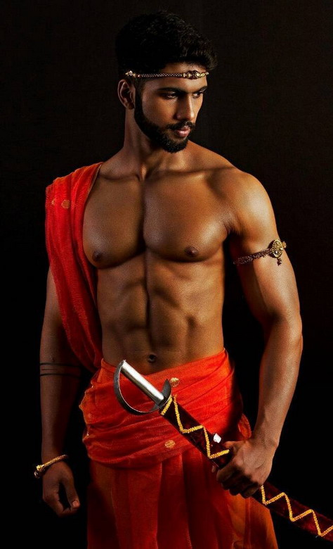 Gratuitous Shirtless Indian Warrior