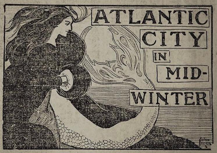 Mermaid in fur: Atlantic City inMid-Winter