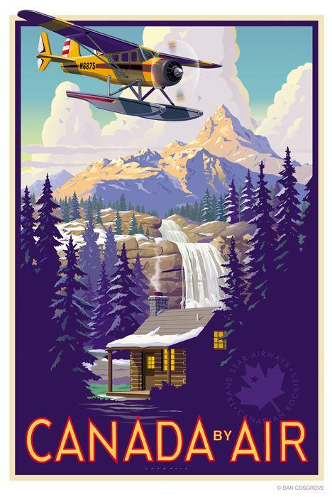 Canada by air