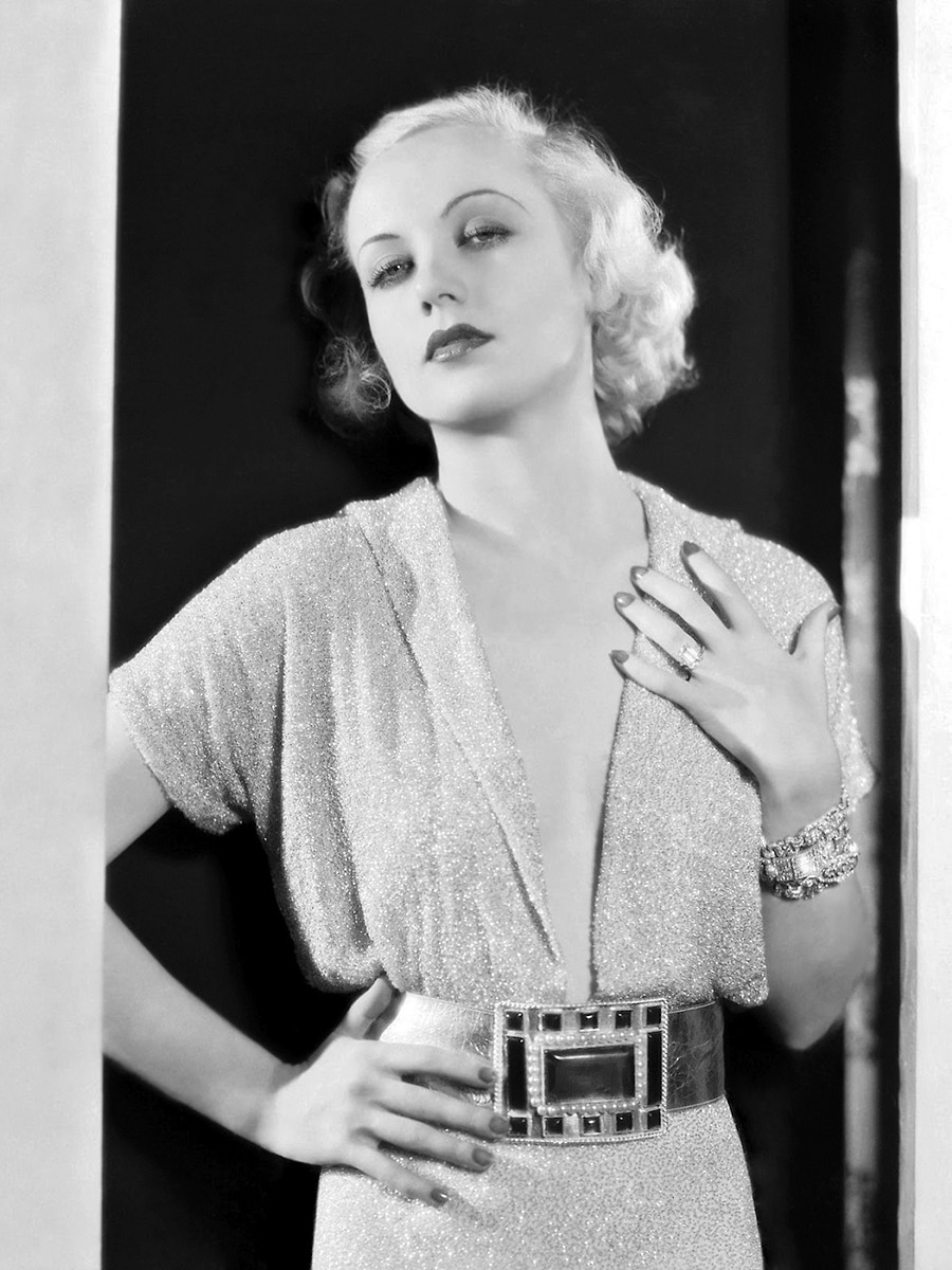 "Carole Lombard, promo shot for ""No Man of Her Own"", 1932"