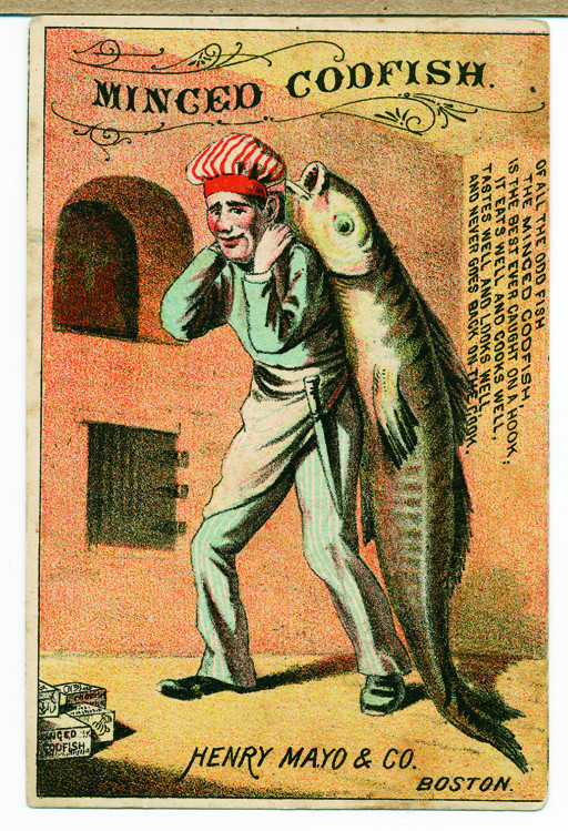 Minced Codfish, Henry Mayo & Co.,Boston