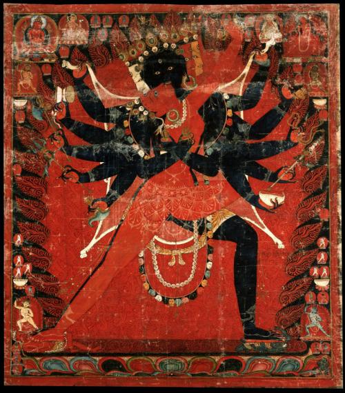 Chakrasamvara and VajravarahiEmbracing