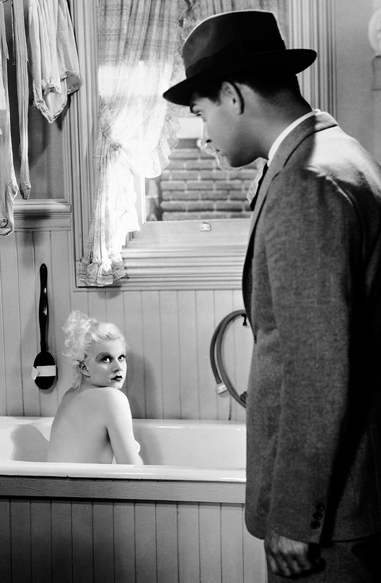 """Jean Harlow and Clark Gable in """"Hold Your Man"""",1933"""