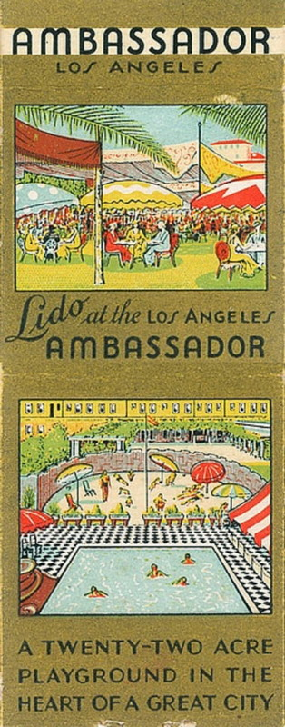Ambassador Hotel, Los Angeles, circa1930